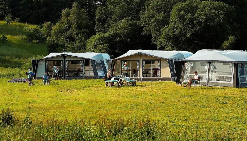 En trækvogn kan gøre campingferien meget lettere