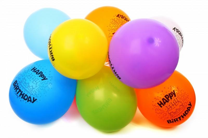 Ingen fest uden balloner